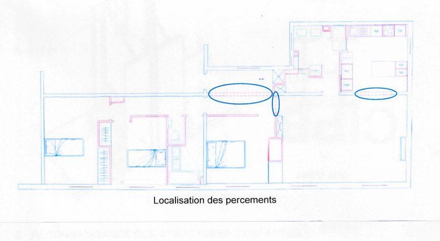 Aménagement d'un appartement parisien dans un immeuble datant du début du 20ème siècle