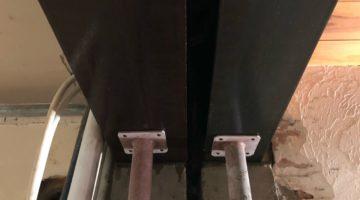 Renforts structurels pour l'ouverture d'un mur porteur