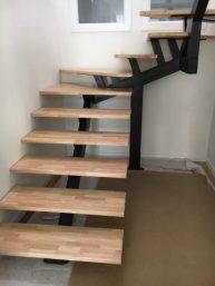 Création de trémie d'escalier et de l'escalier métallique sur mesure