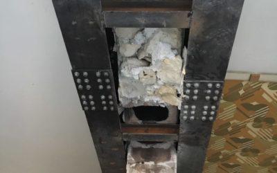 Démolition de murs porteurs à Nice et renforcement avec structures métalliques