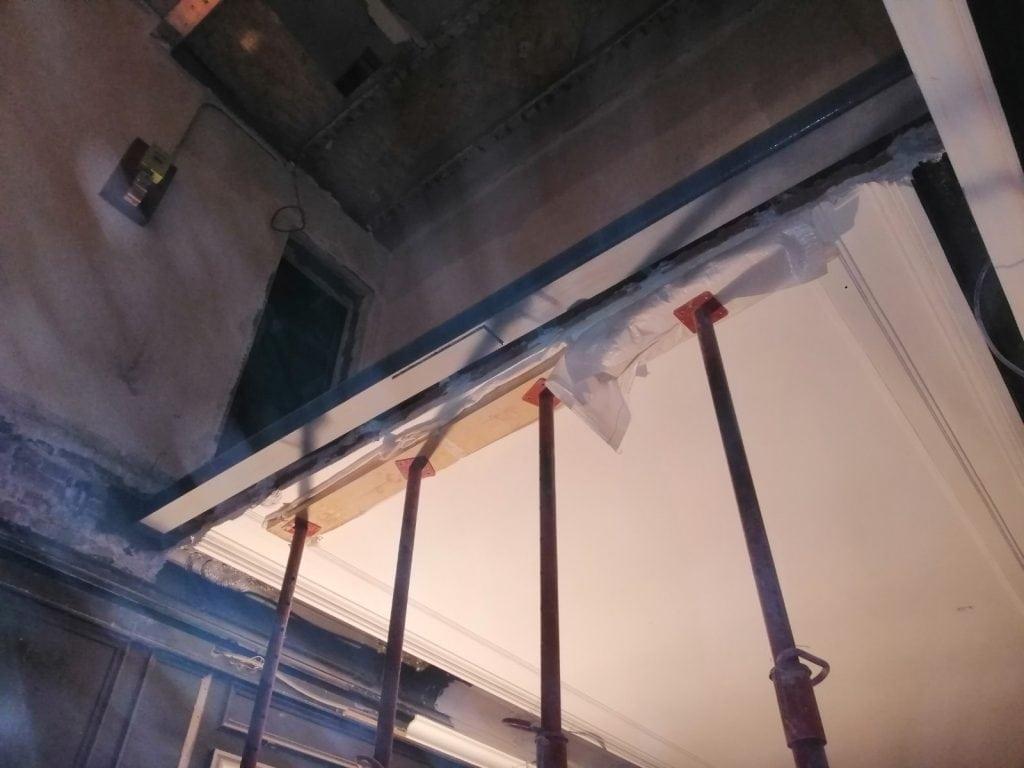 Création d'une trémie d'escalier à Neuilly-sur-Seine. - Murs porteurs